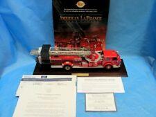 Franklin Mint American LaFrance Series 700 Fire Truck 1/32 Diecast W/Base