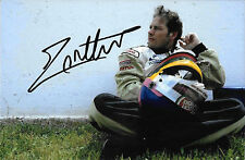 Jacques Villeneuve SIGNED 9x6 ,BAR-Honda Portrait 2001