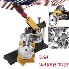 2017 USA STOCK Badge Button Maker Machine Mold Circle Cutter Metal Punch Tool