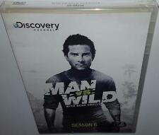 MAN VS WILD COMPLETE SEASON 6 BRAND NEW SEALED R1 DVD BEAR GRYLLS