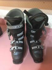 Salomon Performa Downhill Snow Ski Boots Black 25-25.5 Ships N 24h