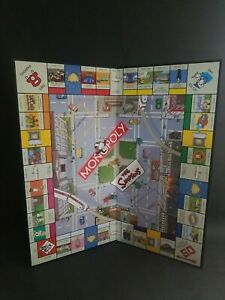Monopoly The Simpsons Edition Replacement Game Board See Detailed Pictures Mint