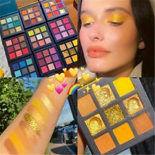 Eyeshadow Palette Holographic Shiny Matte Glitter Pigment Eye Shadow Pallete