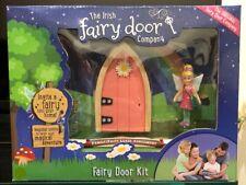 Irish Fairy Door Playset: Pink Door