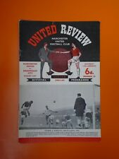 League Division One - Manchester United v Birmingham City - 11th January 1964