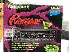 VINTAGE 1997 AUDIOVOX ACD-25 RAMPAGE AM FM CD PLAYER - NEW