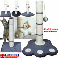 Cat Scratching post activity pole centre climbing play sisal scratch toys 40 cm