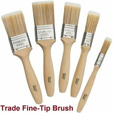 Harris Trade Fine-Tip Brush Set Fine Tips Brush Suitable for All Paints 5 Pieces