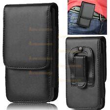 cuero artificial clip cinturón Funda Bolso para Apple iPhone 5s, 5 ,5c, SE ,