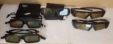 Lot Of 5 SONY & SAMSUNG 3D Glasses