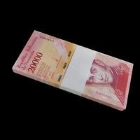 Bundle, Lot 100 PCS, Venezuela 20000 20,000 Bolivares, 2016/2017,  P-NEW, UNC