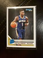 2019-20 Donruss Optic Zion Williamson Rated Rookie #158 Pelicans