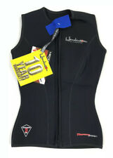 Henderson Womens Thermoprene Vest Front Zip Black 3mm Size 4 Diving Surfing New