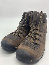 KEEN Men's Gypsum II Mid WP Shoe Brown Mist 1015298 Size 13. GC45