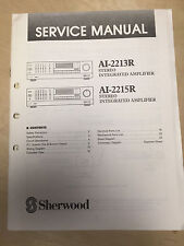 Sherwood Service Manual for the AI-2213R AI-2215R Amplifier AMP ~ Repair