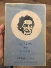 The Bow and the Lyre ( El Arco y la Lira ) by Octavio Paz 1973 HB/DJ First Ed.
