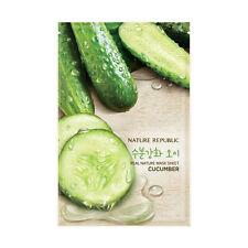 [10PCS] Nature Republic Skin Care Facial Mask Sheet Cucumber Face Mask Pack