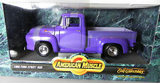 Ertl 1956 Ford Street Rod Truck 1:18 NIB Diecast Model Car purple