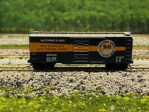 N Scale - Kadee Baltimore & Ohio 40' Time-Saver Boxcar B&O 467046 N3060