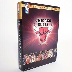 NBA Dynasty Series Chicago Bulls The 1990s DVD Set Free Postage Region 4 AUS