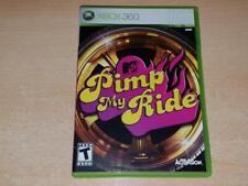 MTV's Pimp My Ride Xbox 360 (Region Free) **FREE UK POSTAGE**