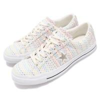 1b113aa3423 Converse One Star OX Ivory Yellow Blue Red White Men Women Unisex Shoes  164607C