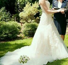 A-Line Lace Sleeve Wedding Dresses