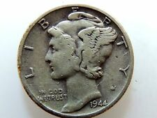 1944 Mercury Silver Dime Book Filler
