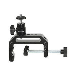 """CAMVATE Universal Super C Clamp With 1/4""""-20 Ball Head Support Holder For Photog"""