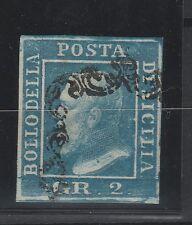 FRANCOBOLLI 1859 SICILIA 2 GR. Z/3659