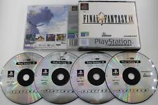 PLAY STATION PS1 PSX FINAL FANTASY IX PLATINUM SIN MANUAL PAL ESPAÑA