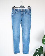 Miss Selfridge mid blue skinny jeans - UK 8