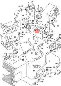 Genuine AUDI VW 200 A4 Avant S4 quattro A6 S6 Passat Coolant Pipe 058121071H