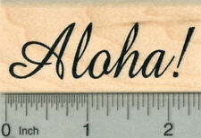Aloha Rubber Stamp, Luau Party Series E30209 WM