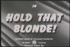 HOLD THAT BLONDE (1945) DVD EDDIE BRACKEN, VERONICA LAKE