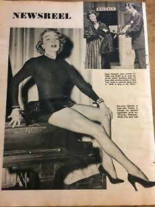 Marlene Dietrich, Full Page Vintage Clipping