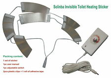 Invisible electric toilet heating sticker AC100-240v to DC16v 2.5amps waterproof