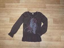 Esprit Damenblusen, - tops & -shirts mit V-Ausschnitt aus Baumwolle