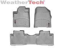 WeatherTech Floor Mats FloorLiner for Honda Pilot - 2009-2015 - Grey