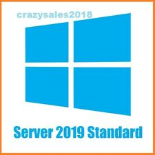 Microsoft Windows Server 2019 STANDARD 64BIT GENUINE LATESTLICENSE KEY CODE+ESD+