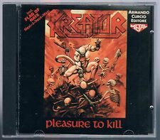 KREATOR PLEASURE TO KILL / FLAG OF HATE CD ARMANDO CURCIO ED.