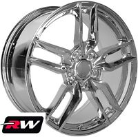 18 / 19 inch Wheels for Chevy Corvette C7 2014-2019 Chrome Stingray C7 Z51 Rims