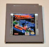 DAYS OF THUNDER ORIGINAL NINTENDO GAMEBOY GB GAME