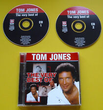 "2 CDs "" TOM JONES - THE VERY BEST OF "" 30 HITS (DELILAH)"