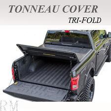 Fits 2014-2017 GMC SIERRA 1500 Lock Tri-Fold Soft Tonneau Cover 5.8ft  Short Bed