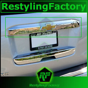 15-16 Chevy Suburban Chrome Upper Liftgate Tailgate Handle Accent Cover 2016