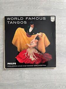 Calando-World Famous Tangos 10 Inch vinyl LP