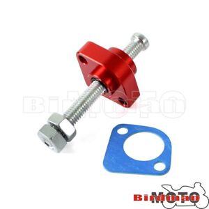 CNC Manual Cam Timing Chain Tensioner Adjuster Red For Honda VFR800 2002-2008