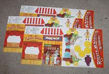 1983 McDonalds Ronald McDonald Midway Punch Out Kit x3 Show