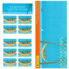 Bande Carnet BC3494A / BC33 - Bonnes vacances (Hamac, bleu) - 2002